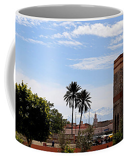 Coffee Mug featuring the photograph Marrakech 2 by Andrew Fare