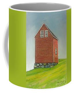 Marriott.s Cove Barn Coffee Mug by Rae  Smith PAC