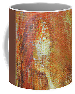 Coffee Mug featuring the painting Mars by Jane See