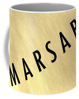 Marsari Gold Coffee Mug