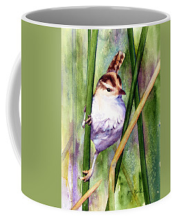 Silver Creek Marsh Wren Coffee Mug