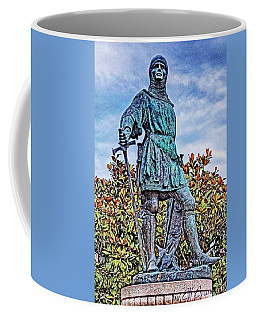 Coffee Mug featuring the photograph Marshal Of Brittany Jehan De Beaumanoir by Elf Evans