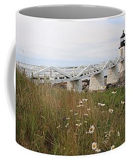 Marshall Point Daisies Coffee Mug
