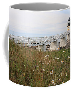 Marshall Point Daisies Coffee Mug