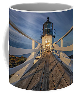 Marshall Point Lighthouse At Sunrise Coffee Mug