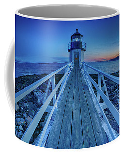 Marshall Point Lighthouse At Sunset, Maine, Usa Coffee Mug