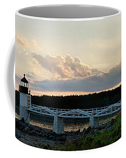 Marshall Point Lighthouse At Sunset, Port Clyde, Maine Coffee Mug