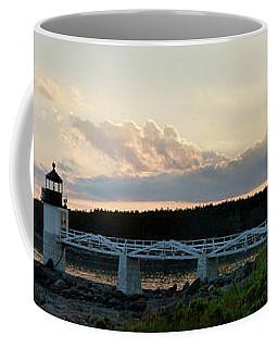Marshall Point Lighthouse At Sunset, Port Clyde, Maine Coffee Mug