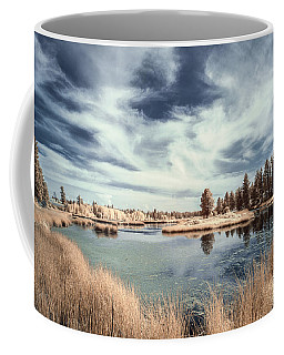Marshlands In Washington Coffee Mug by Jon Glaser
