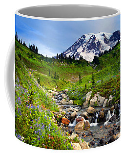 Martha Creek Wildflowers Coffee Mug