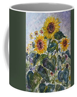 Martha's Sunflowers Coffee Mug