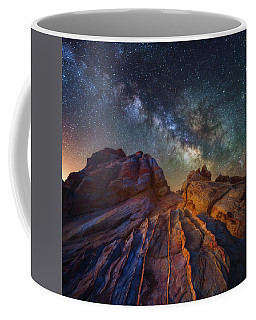 Coffee Mug featuring the photograph Martian Landscape by Darren White