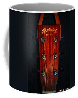 Martin And Co. Headstock Coffee Mug