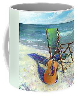 Martin Goes To The Beach Coffee Mug