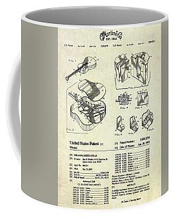Martin Guitar Patent Art Coffee Mug