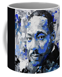 Coffee Mug featuring the painting Martin Luther King Jr by Richard Day