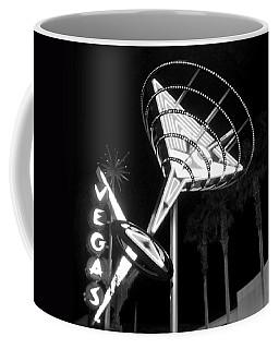 Martini Sign In Vegas B-w Coffee Mug
