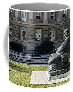 Marulic Square Zagreb  Coffee Mug by Steven Richman
