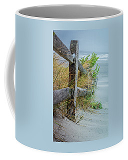 Marvel Of An Ordinary Fence Coffee Mug by Patrice Zinck