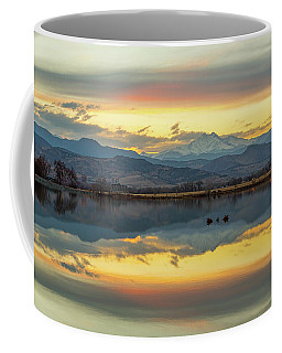 Coffee Mug featuring the photograph Marvelous Mccall Lake Reflections by James BO Insogna