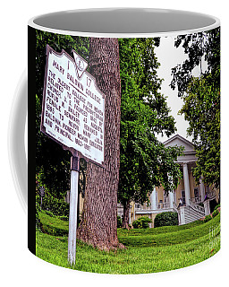 Coffee Mug featuring the photograph Mary Baldwin College - Staunton Virginia by Kerri Farley