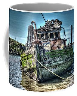Coffee Mug featuring the photograph Mary D. Hume Shipwreak by Thom Zehrfeld