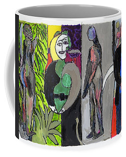 Mary Matisse And Bathers By The River Coffee Mug