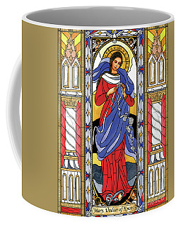 Mary, Undoer Of Knots Coffee Mug