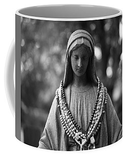 Mary With Rosaries Coffee Mug