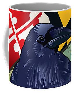 Maryland Citizen Raven Coffee Mug