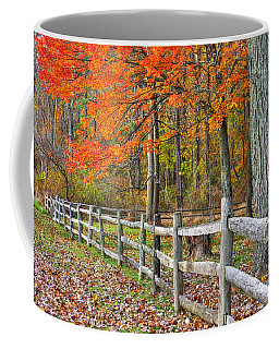 Maryland Country Roads - Autumn Colorfest No. 12 - Eylers Valley Catoctin Mountains Frederick County Coffee Mug