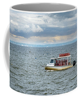 Maryland Crab Boat Fishing On The Chesapeake Bay Coffee Mug