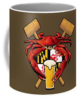 Maryland Crab Feast Crest Coffee Mug