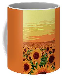 Maryland Sunflowers Coffee Mug