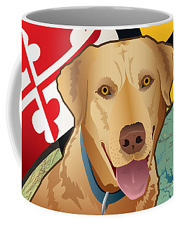 Maryland Yellow Lab Coffee Mug