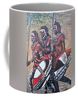 Masaai Warriors Coffee Mug