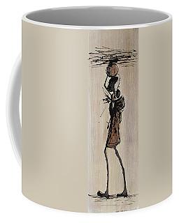 Masai Family - Part 1 Coffee Mug