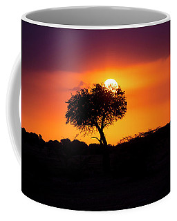 Masai Mara Sunrise Coffee Mug
