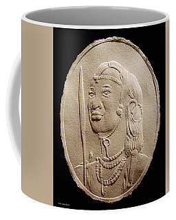 Masai Warrior Coffee Mug by Suhas Tavkar