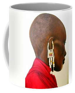 Masai Woman - Original Artwork Coffee Mug