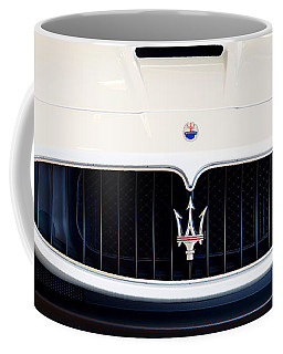 Maserati White Pano 121715 Coffee Mug