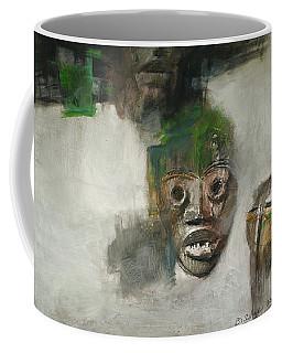 Symbol Mask Painting - 06 Coffee Mug
