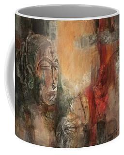 Symbol Mask Painting - 08 Coffee Mug