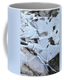 Ice Mask Abstract Coffee Mug by Glenn Gordon