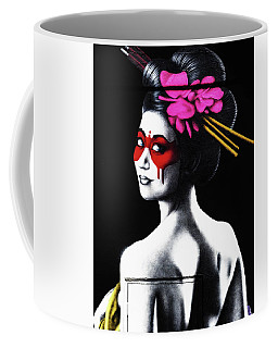 Masked In Red Coffee Mug