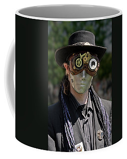 Masked Man - Steampunk Coffee Mug