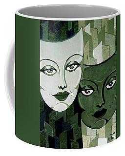 Masks Verde Coffee Mug