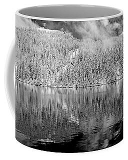 Mason Lake Black And White 2 Coffee Mug