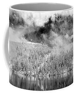 Mason Lake Black And White Coffee Mug