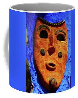 Masque Coffee Mug by Sheila Ping